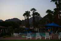 Coucher de soleil a Palm Springs